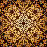 Naadloos Patroonbackground.damask Behang. Royalty-vrije Stock Afbeeldingen