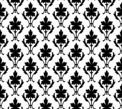 Naadloos patroonbehang bloemen Stock Foto's