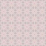 Naadloos pink beige behang Stock Foto