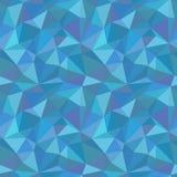 Naadloos poligonalpatroon Royalty-vrije Stock Fotografie