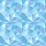 Naadloos poligonalpatroon Stock Foto's