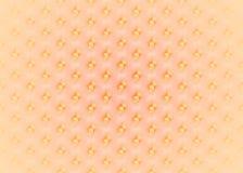 Naadloos regelmatig vaag en glanzend punten diagonaal geeloranje roze Stock Afbeelding