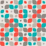 Naadloos retro abstract geometrisch patroon Royalty-vrije Stock Fotografie