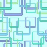 Naadloos retro blauw behang Stock Fotografie