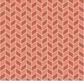 Naadloos Retro Geometrisch Patroon stock illustratie
