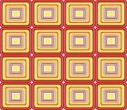 Naadloos Retro patroon - vector Royalty-vrije Stock Foto's