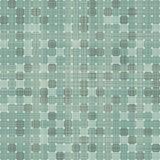 Naadloos retro vierkanten naadloos patroon Stock Afbeelding