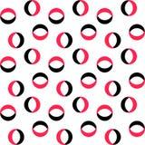 Naadloos Ring Pattern stock illustratie