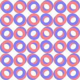 Naadloos Ring Pattern vector illustratie