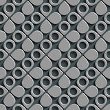 Naadloos Ring Wallpaper stock illustratie