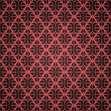 Naadloos rood ornamentbehang Royalty-vrije Stock Foto's
