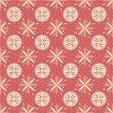 Naadloos rood patroon Stock Afbeeldingen