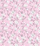 Naadloos roze patroon Stock Afbeeldingen
