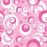 Naadloos roze patroon Stock Fotografie