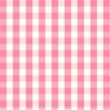 Naadloos roze patroon, achtergrond Royalty-vrije Stock Afbeelding