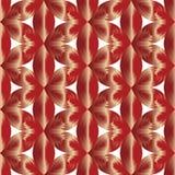 Naadloos Satijnpatroon Geschikt voor textiel, stof en verpakking Royalty-vrije Stock Foto's