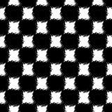 Naadloos schaakpatroon royalty-vrije illustratie