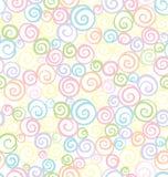 Naadloos shell patroon vector illustratie