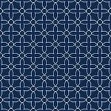 Naadloos sierpatroon - eenvoudig ontwerp Vector geometrische achtergrond stock illustratie