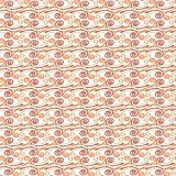 Naadloos Spiraalvormig Patroon Stock Foto
