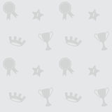 Naadloos Sporten Vectorpatroon Royalty-vrije Stock Foto