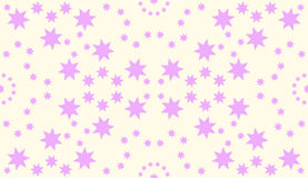 Naadloos sterrenpatroon Royalty-vrije Stock Fotografie