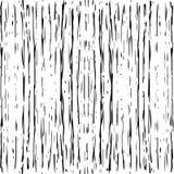 Naadloos streeppatroon Hand Getrokken Grunge-achtergrond stock afbeelding