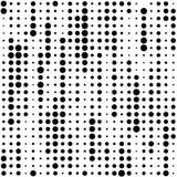 Naadloos streeppatroon Vector zwart-wit textuur Stock Afbeeldingen