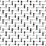 Naadloos streeppatroon Vector zwart-wit textuur Royalty-vrije Stock Fotografie