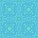 Naadloos symmetrisch patroon, textuur Stock Afbeelding