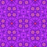 Naadloos symmetrisch patroon, textuur Stock Foto
