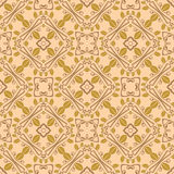 Naadloos symmetrisch patroon, textuur Stock Fotografie