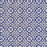Naadloos tegelpatroon van oude ceramiektegels Royalty-vrije Stock Foto