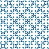Naadloos tegels geometrisch patroon Stock Afbeeldingen