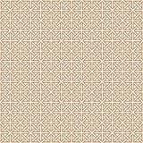 Naadloos traditioneel Japans geometrisch ornament Gouden rassenbarrières royalty-vrije illustratie