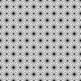 Naadloos traditioneel Japans geometrisch ornament Rebecca 36 stock illustratie