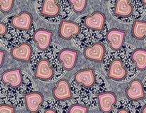 Naadloos traditioneel patroon met geometrische achtergrond vector illustratie