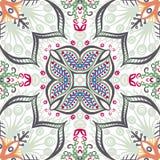 Naadloos uitstekend bloemenpatroon Royalty-vrije Stock Afbeelding