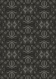 Uitstekend damastpatroon Vector Illustratie