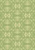 Uitstekend damastpatroon Royalty-vrije Illustratie