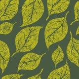 Naadloos uitstekend grunge bloemenpatroon royalty-vrije illustratie