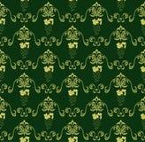 Naadloos uitstekend patroon Stock Afbeeldingen