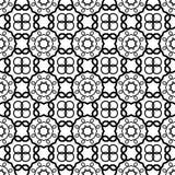 Naadloos Uitstekend Patroon Geometrisch abstract naadloos patroon Klassieke achtergrond Vector illustratie Stock Afbeeldingen