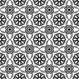 Naadloos Uitstekend Patroon Geometrisch abstract naadloos patroon Klassieke achtergrond Vector illustratie Royalty-vrije Stock Afbeeldingen