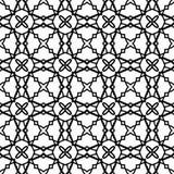 Naadloos Uitstekend Patroon Geometrisch abstract naadloos patroon Klassieke achtergrond Vector illustratie Royalty-vrije Stock Foto's
