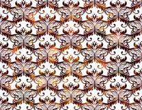 Naadloos Uitstekend Patroon Vector illustratie, EPS10 Royalty-vrije Stock Foto's