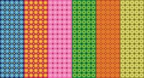 Naadloos Uniek Textuurpatroon Stock Afbeelding