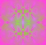 Naadloos vaag ornament groen roze viooltje Royalty-vrije Stock Afbeeldingen