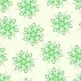Naadloos van fractals en elementen van omwenteling en torsie in schaduwen Royalty-vrije Stock Fotografie
