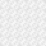 Naadloos van geïsoleerde driehoeks lineaire vierkanten op een witte achtergrond Stock Fotografie